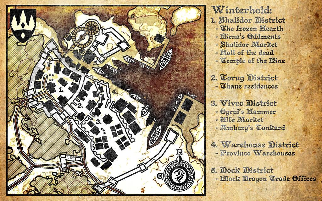 Winterhold Map 4E214 by DovahFahliil