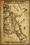 Elder Scrolls: Map of East Keizaal