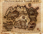 Elder Scrolls: Political Map Tamriel