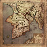 Current Work - Digital: Faol's Tooth Map