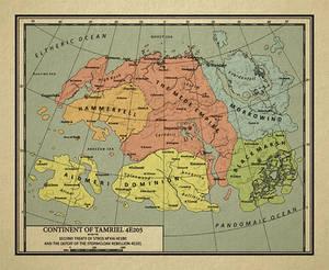 Current: Elder Scrolls: 1950's Political Map