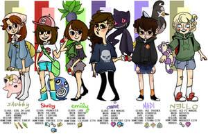 pokemon buddies! by emily-bright
