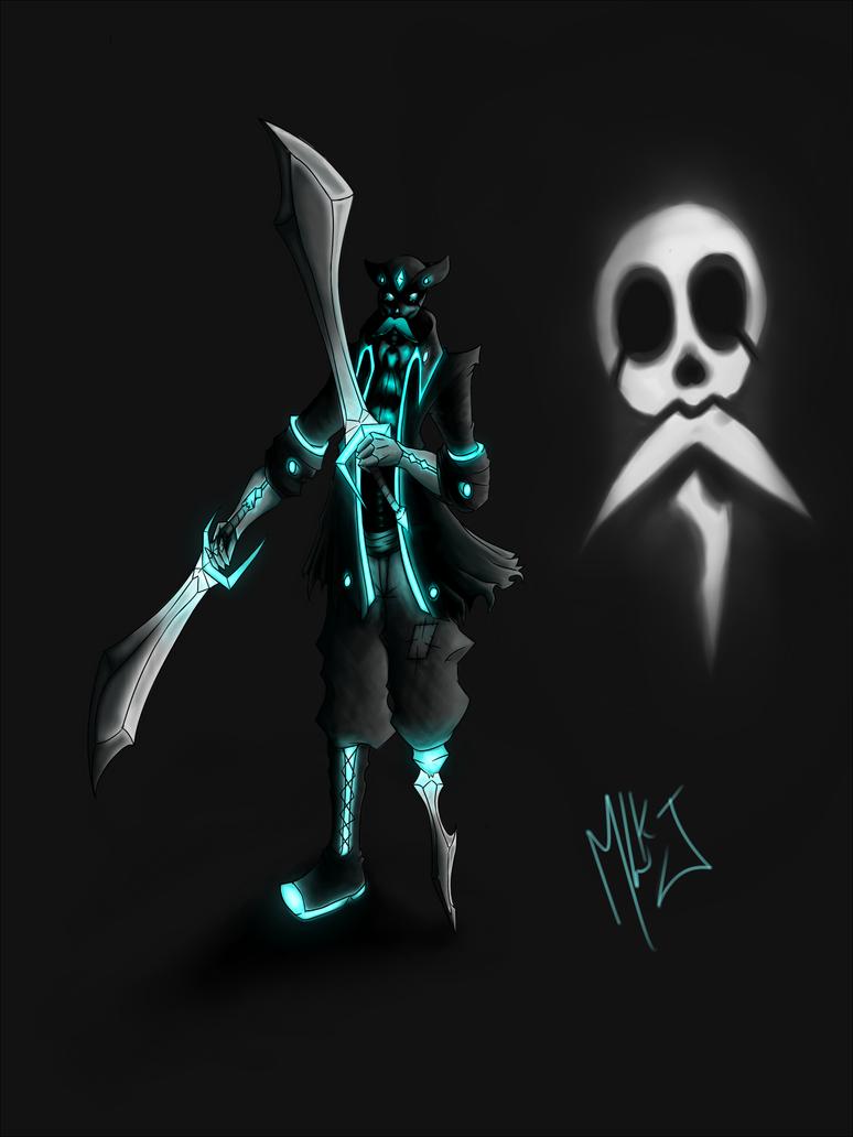 Blue Bones the Pirate by MalikJack23