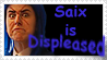 Saix is Displeased Stamp by HowlingWolf201