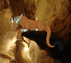 Beastie in the Caverns by HowlingWolf201