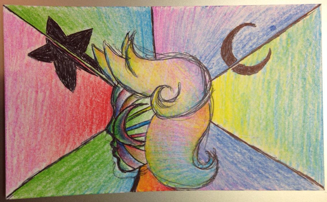 Rainbow Gal by wolfenthusiast