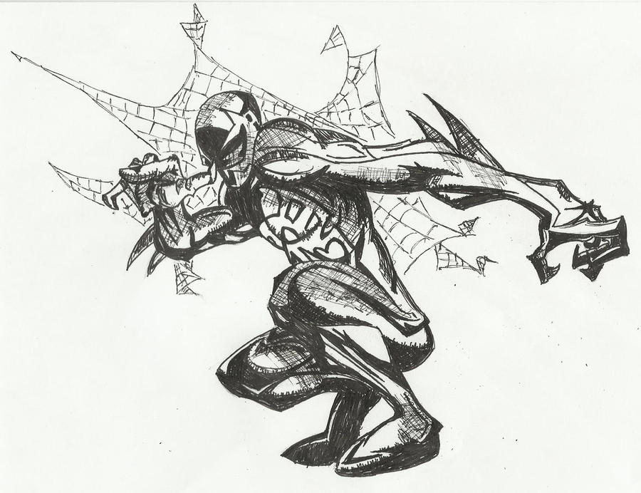 Spider man 2099 by cryogonal on deviantart for Spider man 2099 coloring pages
