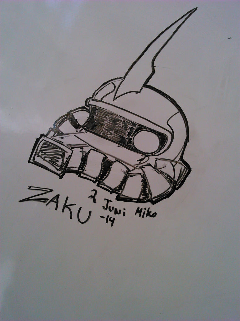 Zaku by MikoKawaii