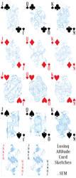 Losing Altitude Card Sketches by Teela-B