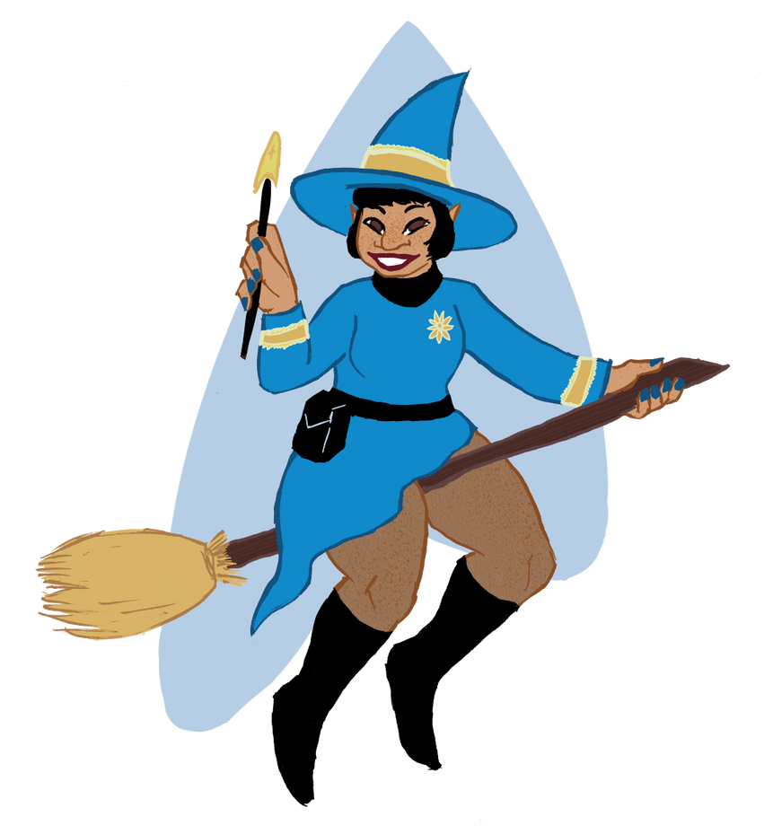 Trekkie Witch by Teela-B