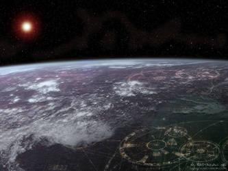 Earth City by Vhellas