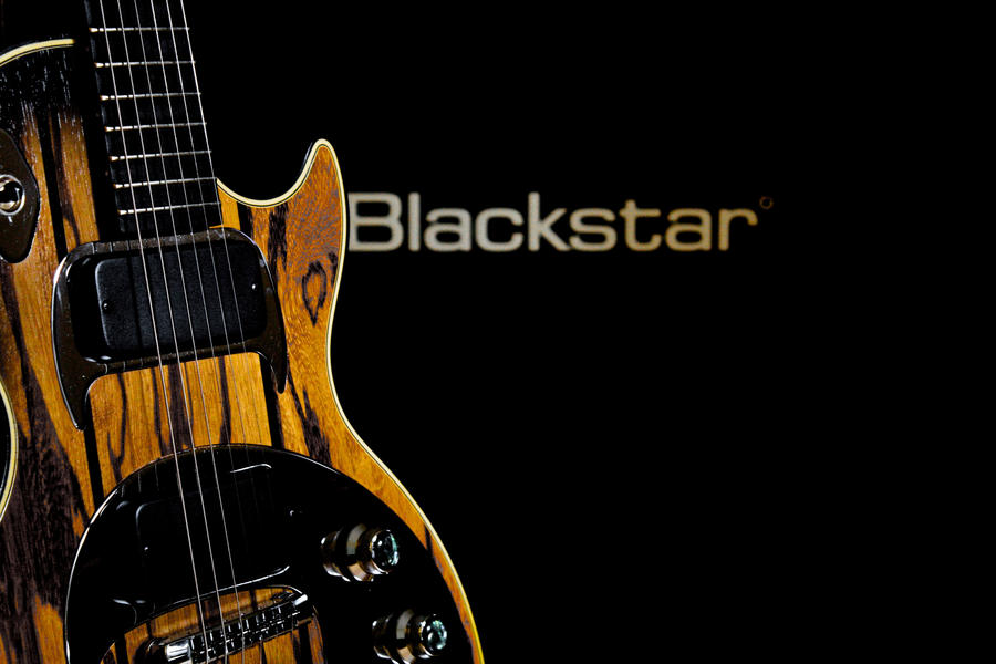 Gibson Dusk Tiger Blackstar by EpoKrhcp