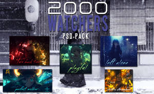 2000 Watchers PSD-Pack Special by YugataKisu