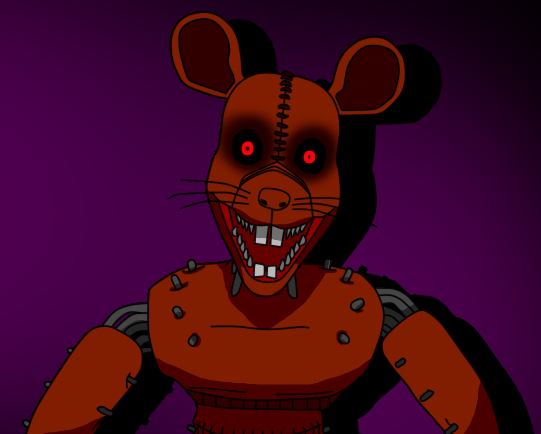 FNaC 3 - Monster Rat by RasecDreemurr on DeviantArt