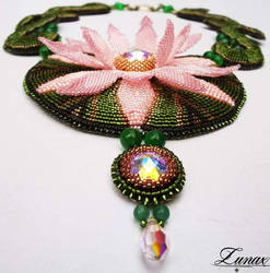 Necklace Lotus Flower