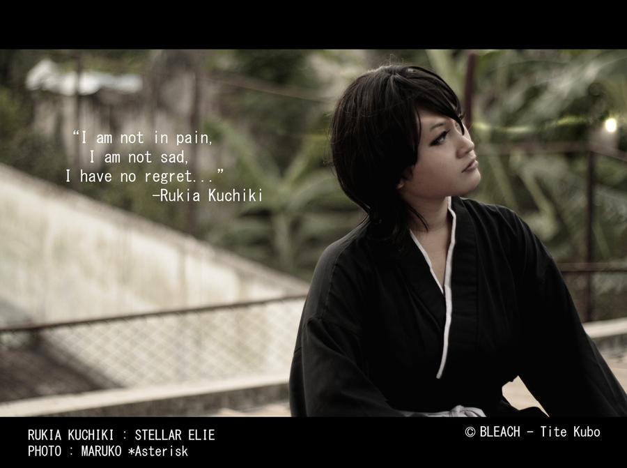 Rukia Kuchiki - Thank you by ast3risk