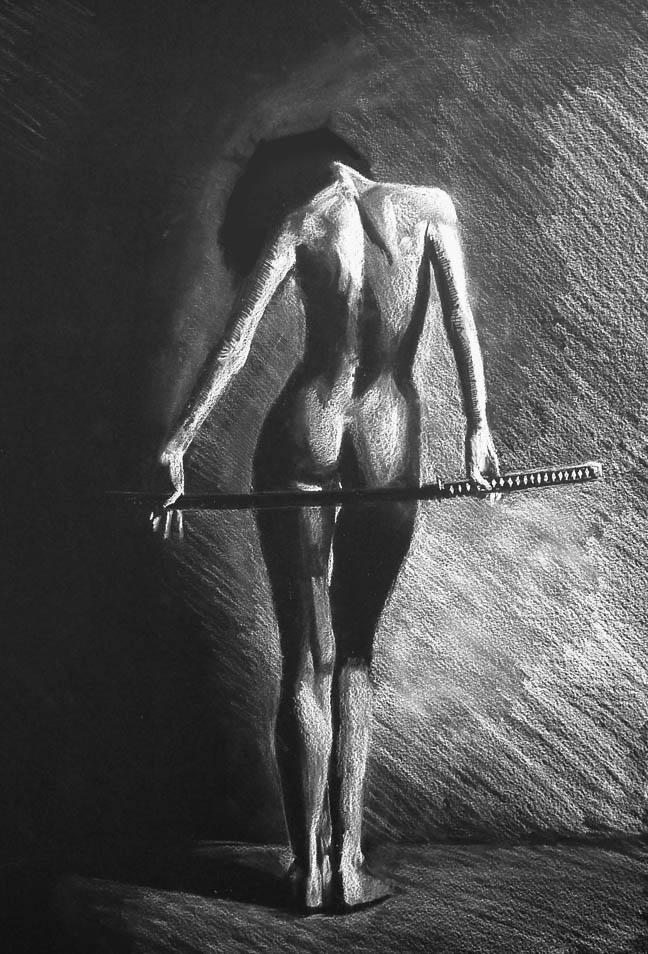 nude with katana by Zatarra86