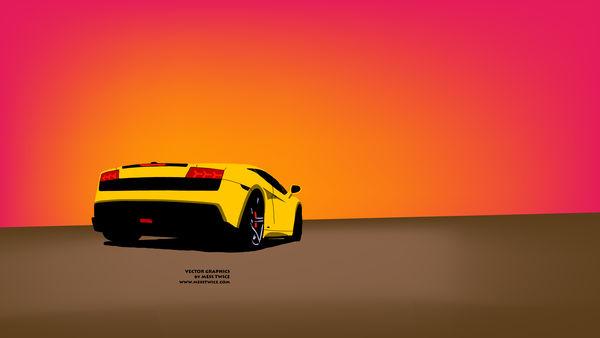 Lamborghini Gallardo Vector Version 1.0