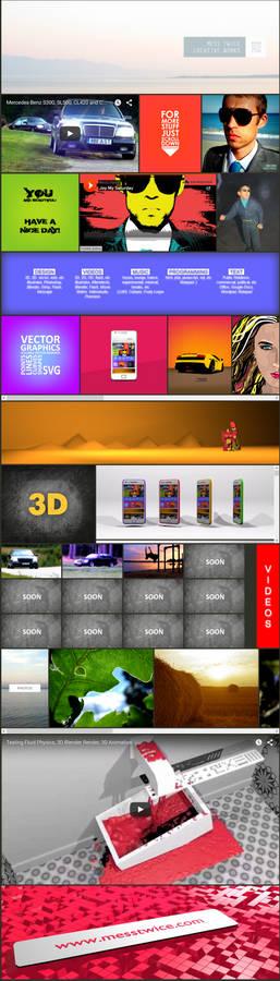 Webdesign work in progress - screenshot