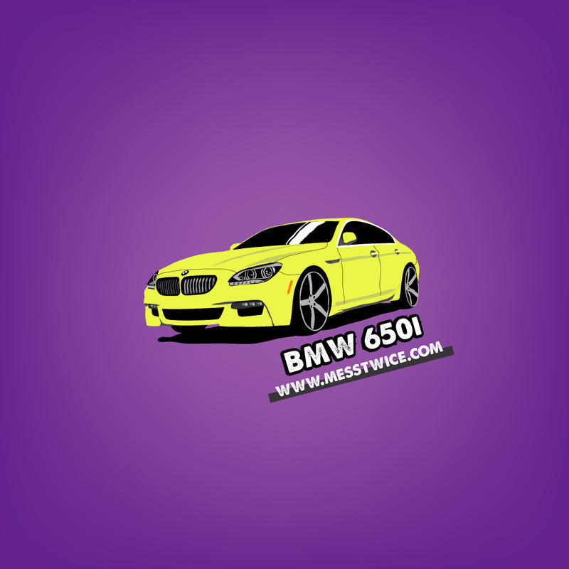 Bmw 650i Gran Coupe vector