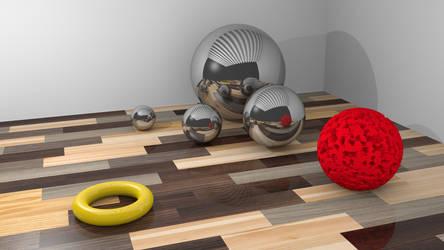 Simple floor texture test