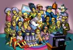 Anime Style Simpsons
