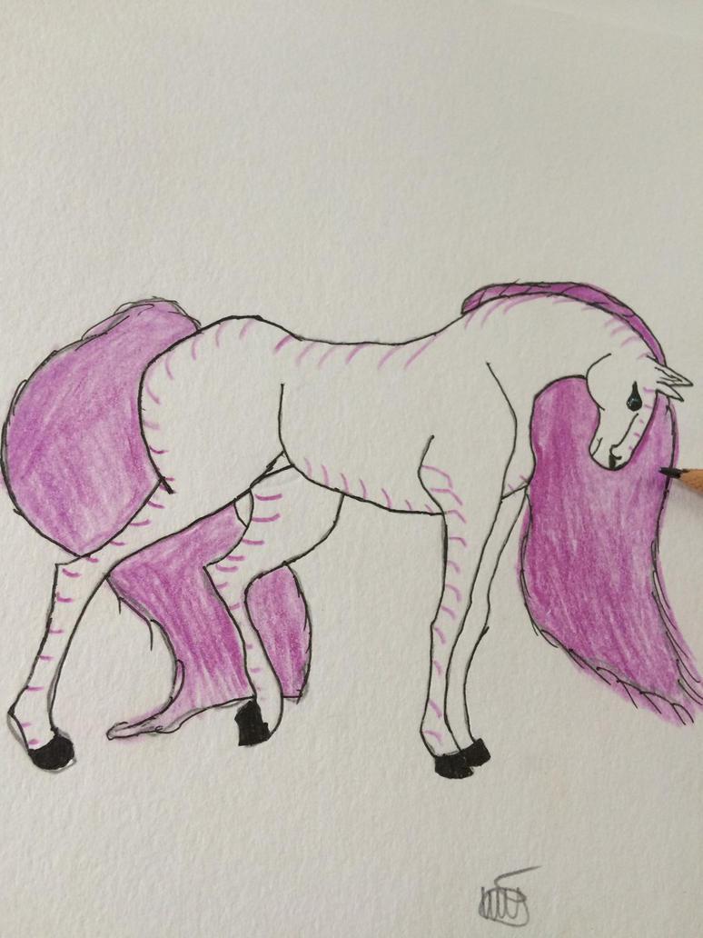 Horse by GoldenWolfStars
