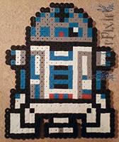 R2 D2 by PerlerPixie