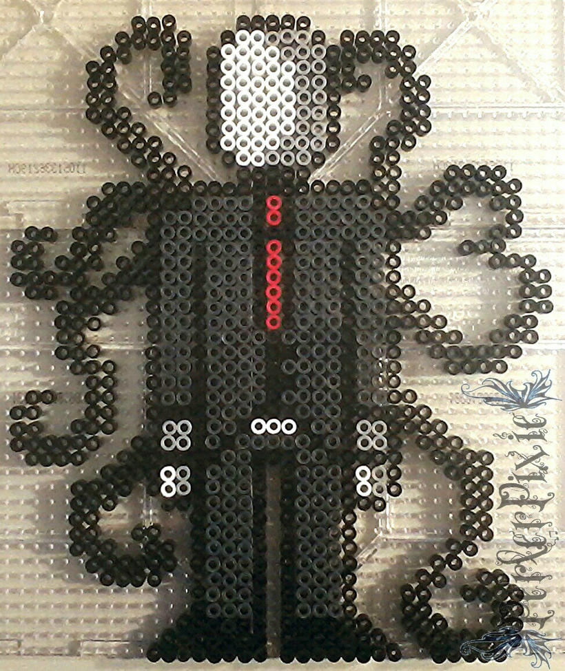 Slender Man by PerlerPixie
