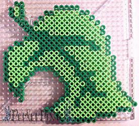 Animal Crossing Leaf by PerlerPixie