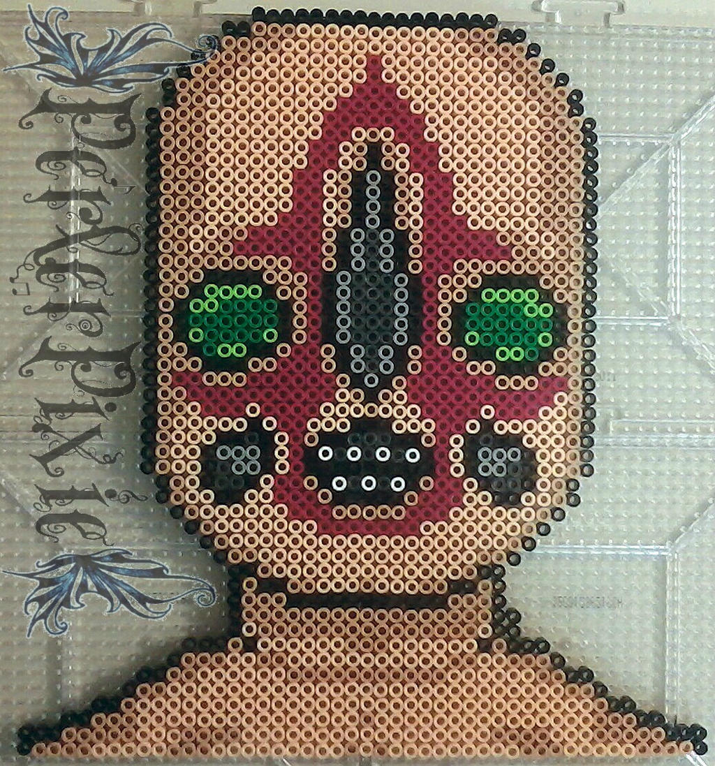 SCP 173 by PerlerPixie