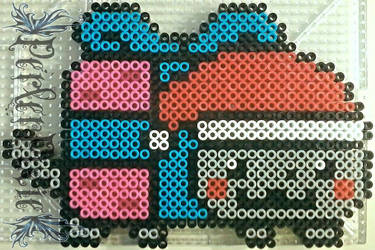 Nyan Cat Christmas Present by PerlerPixie
