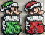 Luigi and Mario Stockings