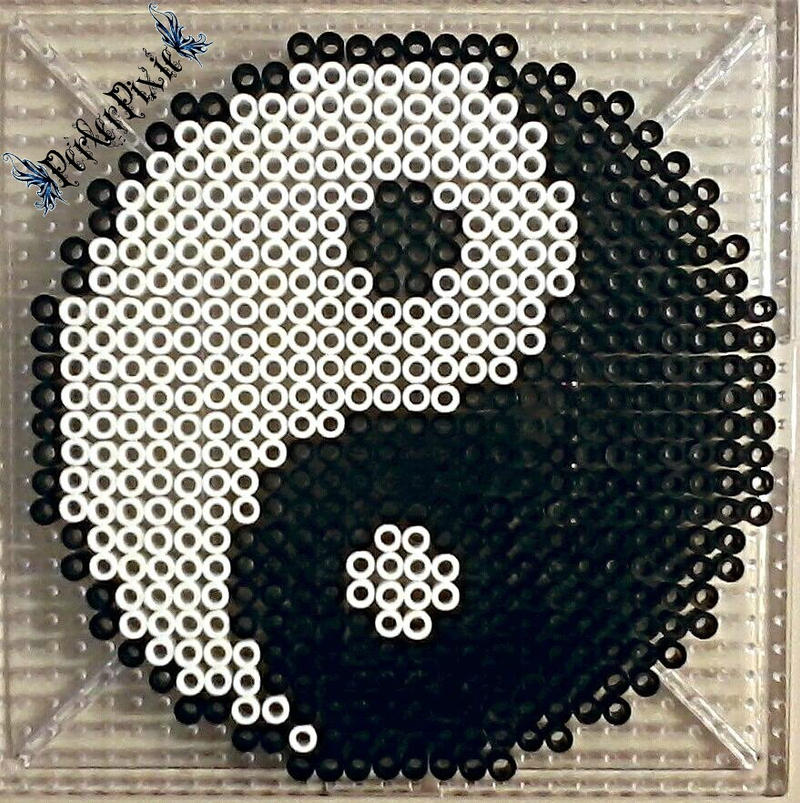 Yin and Yang by PerlerPixie on DeviantArt