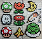 Mario Power Up Items
