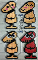 The Many Faces of Dummy by PerlerPixie