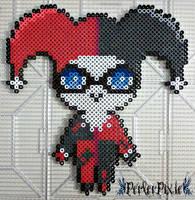 Cute Harley Quinn by PerlerPixie