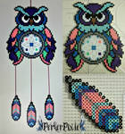 Candy Owl DreamCatcher