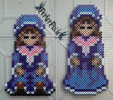 Mad Father - Purple Dolls by PerlerPixie