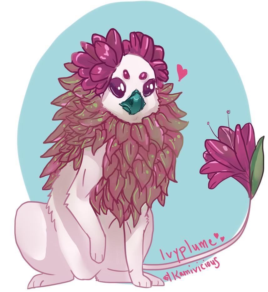 Ivyplume doodle by NagaPls