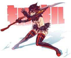 Kill la Kill - Ryuko III by Koyorin
