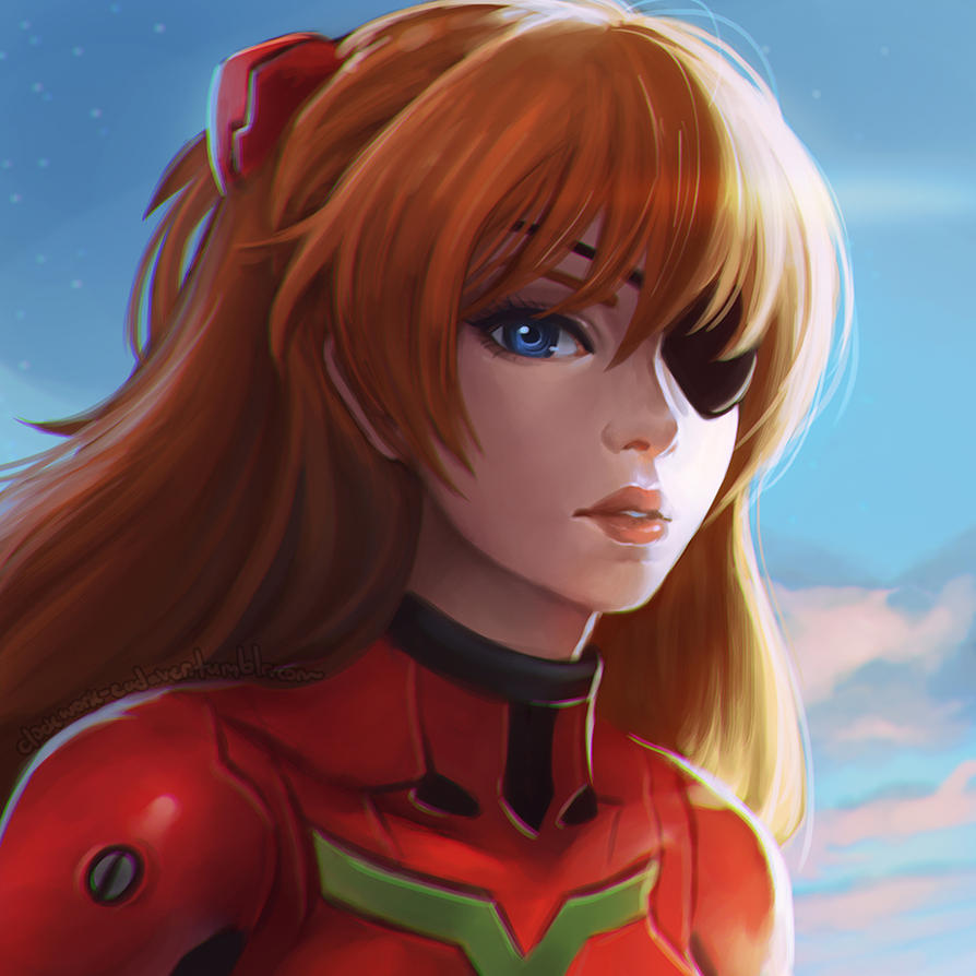 Asuka by Sonellion