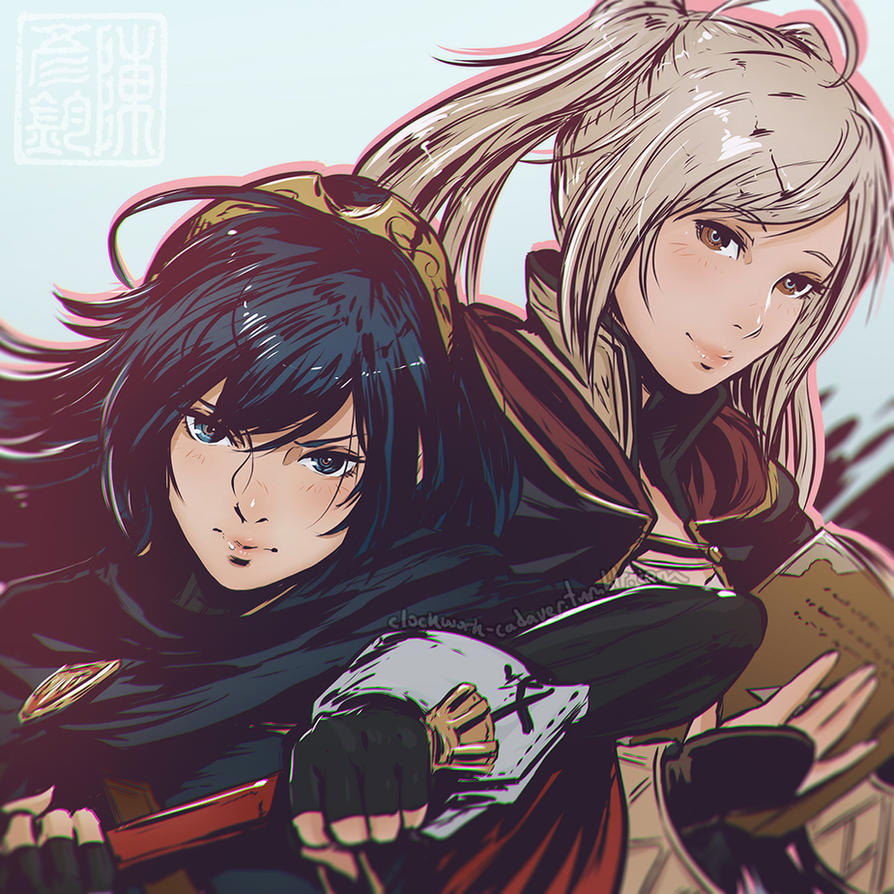 lucina and robin by koyorin on deviantart