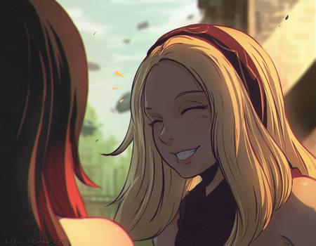 Kat and Raven