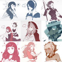 FE Fates Sketch Compilation by Koyorin