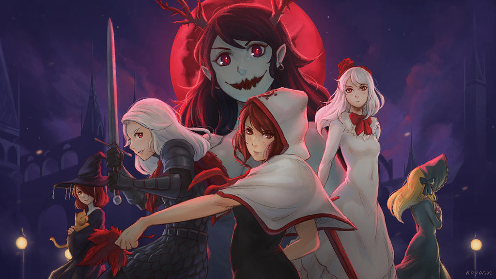 Momodora: Reverie Under the Moonlight by Koyorin