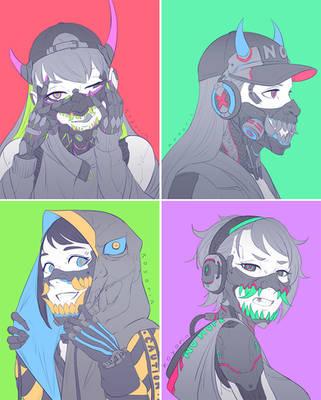 masks by Koyorin