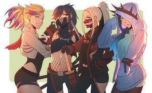 Monster Hunter Girls // 01