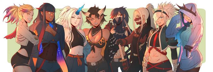 Monster Hunter Girls // 02