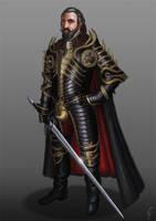 Scorpion knight by LukaTrkanjec